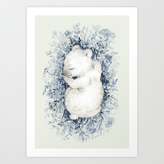 Polar Slumber Art Print