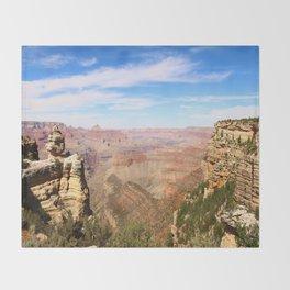 South Rim Grand Canyon Throw Blanket