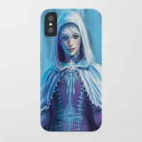 jack frost iPhone & iPod Cases featuring Jack Frost by franzkatter