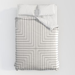 Converge Three Black Comforters