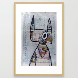 hellfire_1 Framed Art Print