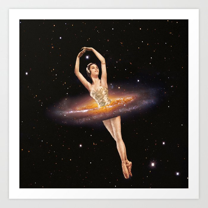 Cosmic Ballerina, Part 1 Kunstdrucke