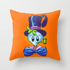 Super Turnip Head Throw Pillow