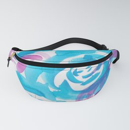 1   |  190413 Flower Abstract Watercolour Painting Fanny Pack