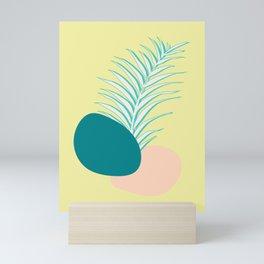 Spring Palm #society6 #spring Mini Art Print