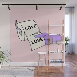 LOVE IS LIKE Wall Mural