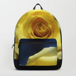 a yellow rose Backpack