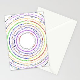 Genome Circles 2 Stationery Cards