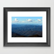 On A Clear Day Framed Art Print