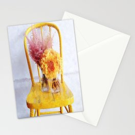 Yellow Chair Stationery Cards