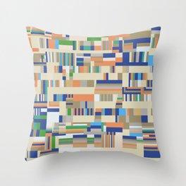 Chromatetude (Soft Colours) Throw Pillow