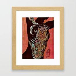 Liquid Gold of Night Framed Art Print