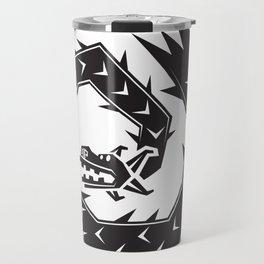 Mariachi Ronin Feathered Snake black Travel Mug