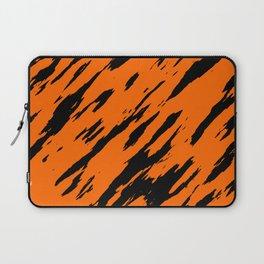 Bengal Tiger Animal Print Orange and Black Laptop Sleeve
