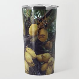 Coconut Palm - Cocos nucifera Travel Mug