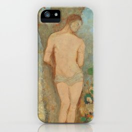 Odilon Redon - Saint Sebastian iPhone Case