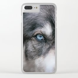 Window To The Soul Clear iPhone Case