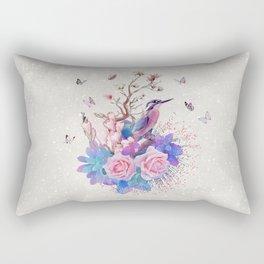 FLORAL  ALCEDO ATTHIS Rectangular Pillow