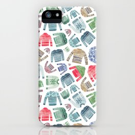 Christmas Jumpers! iPhone Case