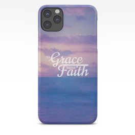 Grace Through Faith - Ephesians 2:8 iPhone Case