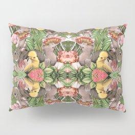 Bunny Cockatoo Kaleidoscope Pillow Sham