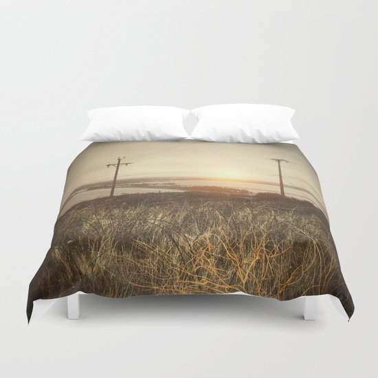 Concentrate my mind Duvet Cover