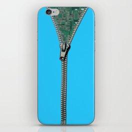 Unzipped!!! iPhone Skin