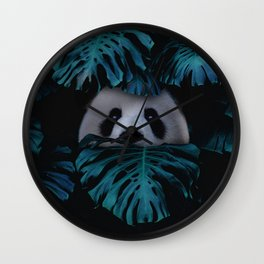 Don't Hide Behind Your Doubts Wall Clock