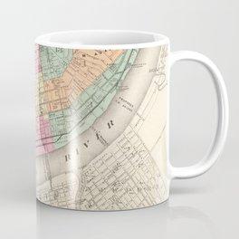 Vintage Map of Cincinnati OH (1872) Coffee Mug