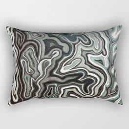 Abstract #1 - I Aquatic Rectangular Pillow