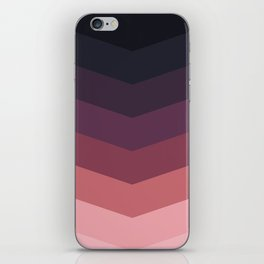 Purple Thunder Storm iPhone Skin