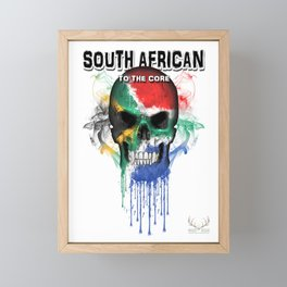 To The Core Collection: South Africa Framed Mini Art Print