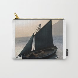 Fishing Sailboat at Dawn by Marijan Zubak Carry-All Pouch