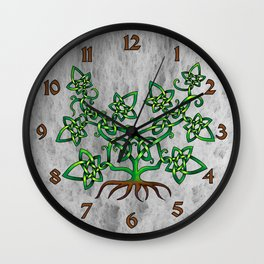 Ivy Knot Wall Clock