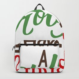 Have A Holy Jolly Christmas Backpack