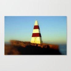 Obelisk on Cape Dombey Canvas Print