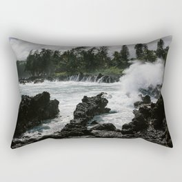 Almost to Hana Rectangular Pillow