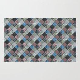 Fleur de Lys Stone Tiles Rug