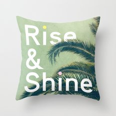 Rise & Shine Throw Pillow