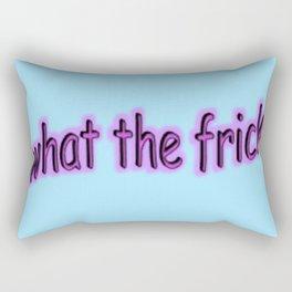 What the frick?! Rectangular Pillow