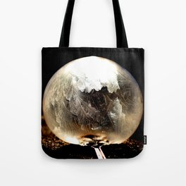 Bubble Frozen in Time Tote Bag