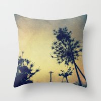 lace Throw Pillows featuring Lace by Olivia Joy St.Claire - Modern Nature / T