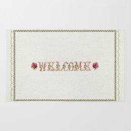 Welcome 2 - Vintage By Totlia Rug