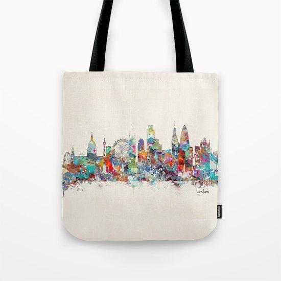 london city skyline Tote Bag