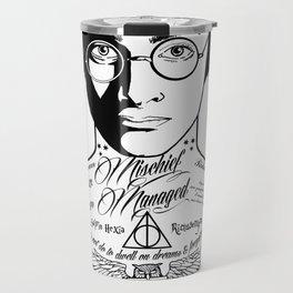 HP Mischief Managed Tat Sketch Travel Mug