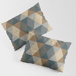 Caffeination Geometric Hexagonal Repeat Pattern Pillow Sham
