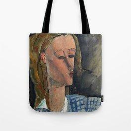"Amedeo Modigliani ""Beatrice Hastings"", 1916 Tote Bag"