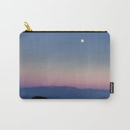 The moon over Rila Moutain Carry-All Pouch