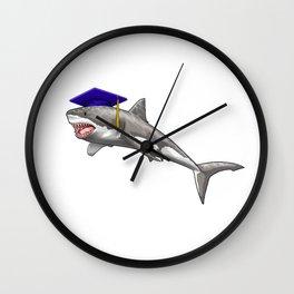 Graduate Shark Class of 2019 Graduation Wall Clock