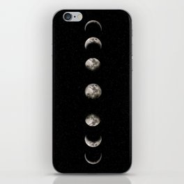 Moon Phase iPhone Skin